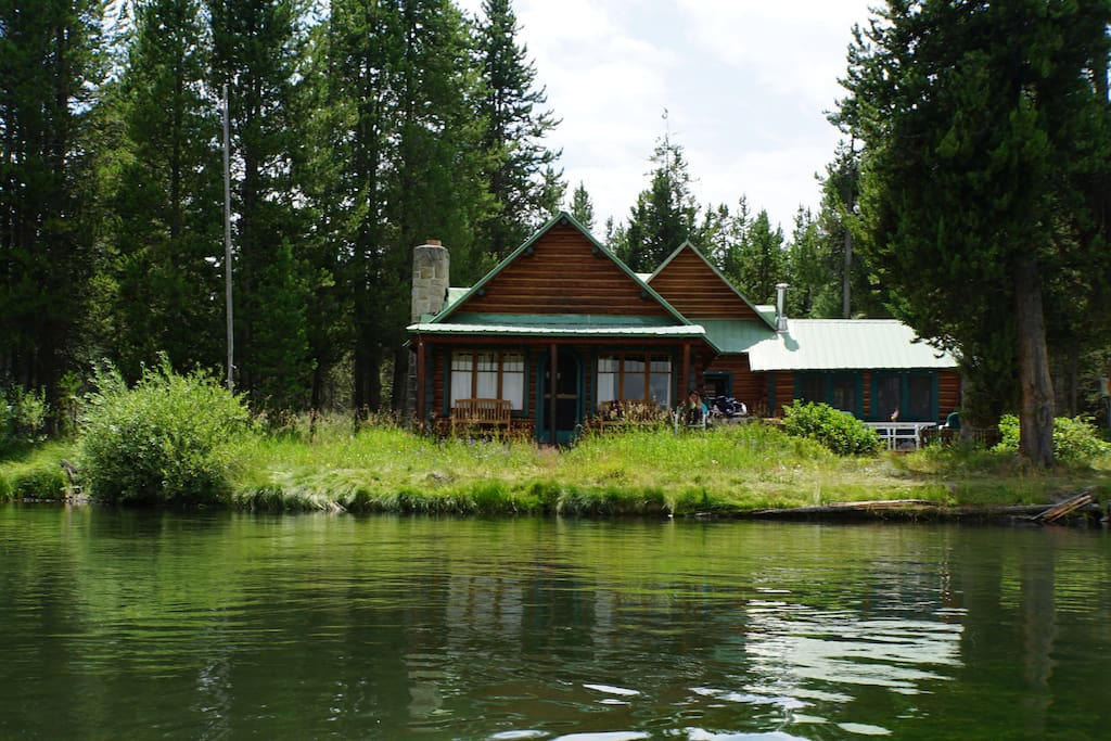 View of Cabin from River