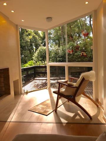 Apartamento aconchegante proximo ao Lago Negro - Gramado - Apartment