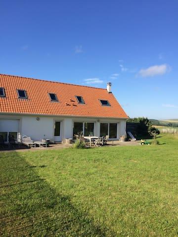 Maison récente  site des 2 caps - Tardinghen - Hus