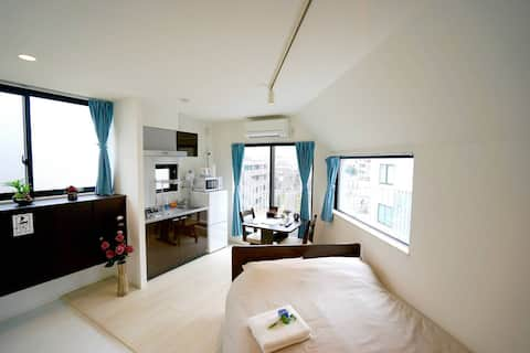 4 minutes to Shinjuku: New Tokyo Apartment 501