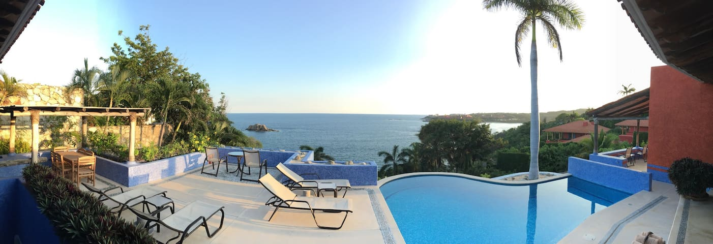 Casa Tehuana, private pool and beach in Huatulco! - Huatulco
