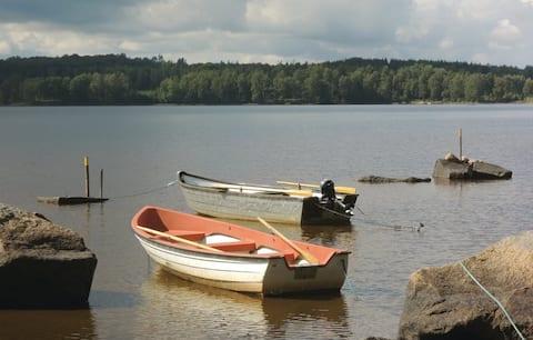 Naturskönt boende med närhet till sjön Rusken