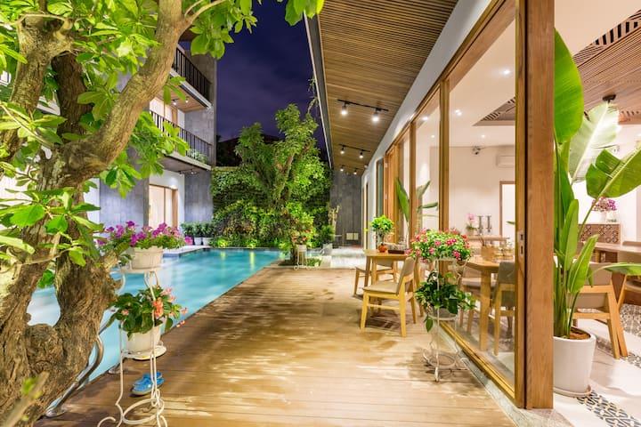 Tam House Villa Hotel, Deluxe Room, Salty Pool