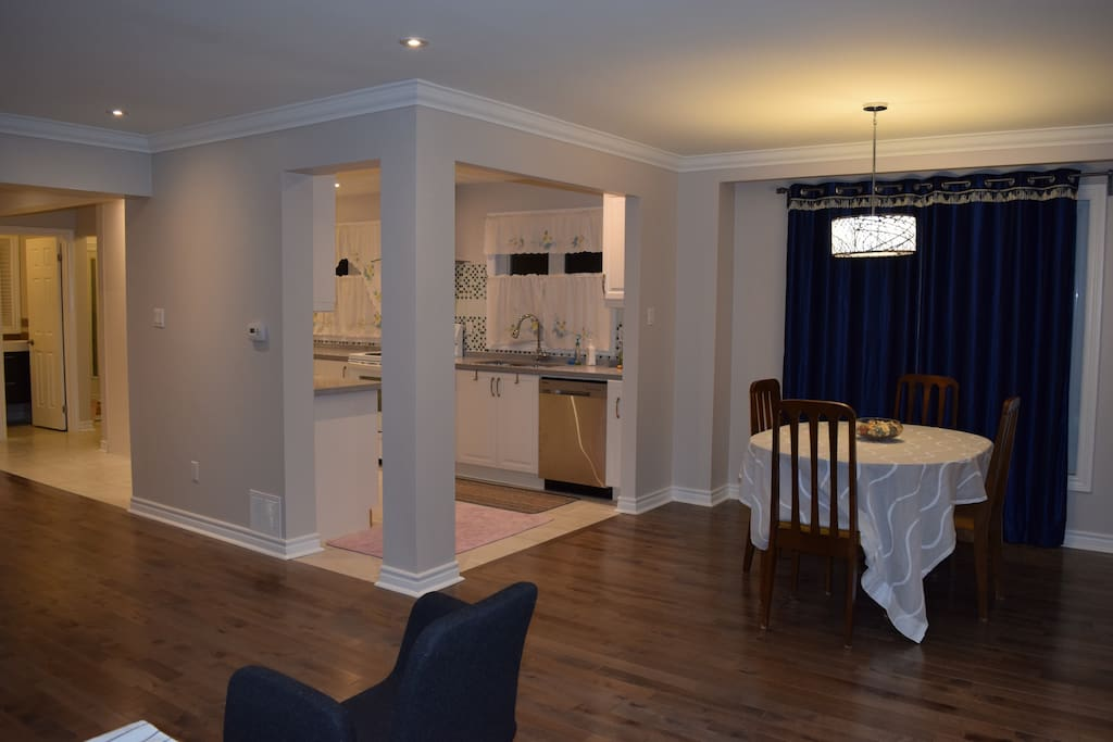 Common Area-Entrance, Living, Dining, Kitchen