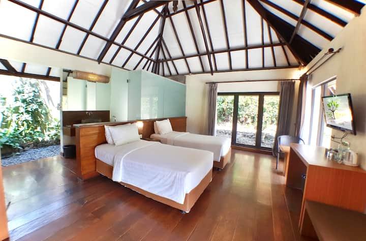 THE BATU Hotel - Twinbed Cottage