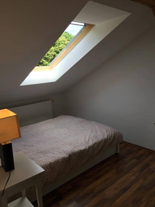 Zimmer zum Luftbad