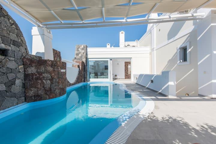Aspronisi Villa At Secret Earth Santorini