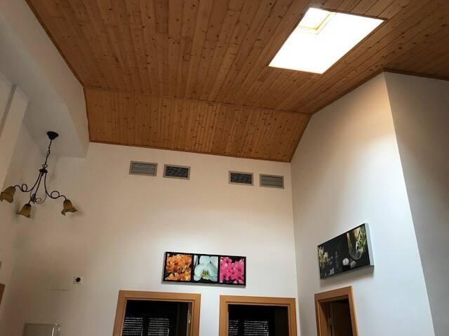 Techos acuadrillados de madera