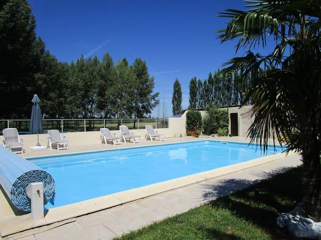 Gîte au coeur du Marais Poitevin , - Vix - Lejlighed