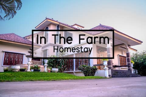 In the farm homestay