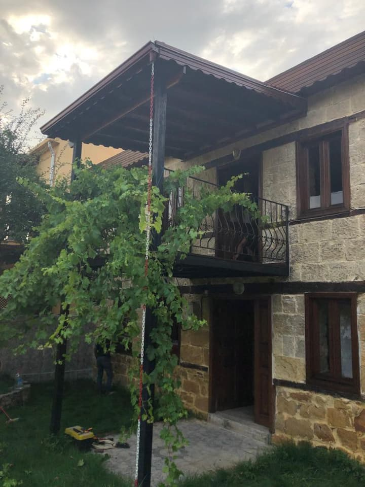Kaz dağlarında taş ev tecrübesi