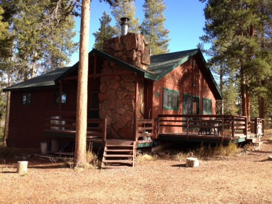 One of a kind winter park colorado cabin cabins for for Cabin rentals in winter park co