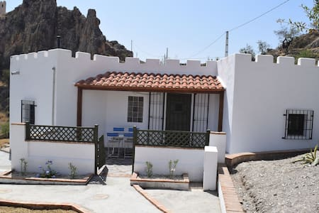 Two bedroom cottage on 2 acre finca near village - Lubrín
