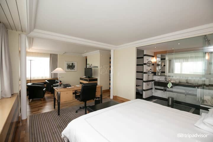 Presidential Suite with a beautiful view over the City