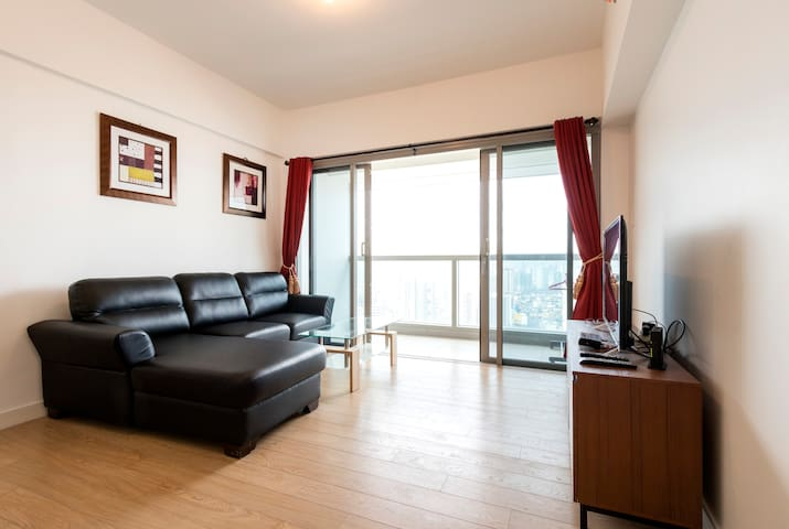 One Shangri-La One Bedroom Apartment-WIFI in room - Mandaluyong - Departamento