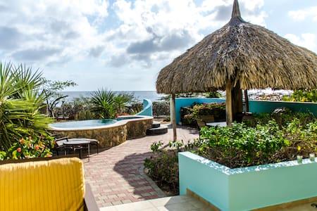 Ocean Front Luxury Kalki Villa - Sabana Westpunt - Haus