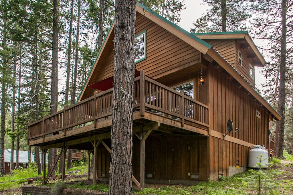 Just short of perfect plain wa cabins for rent in for Leavenworth cabin rentals