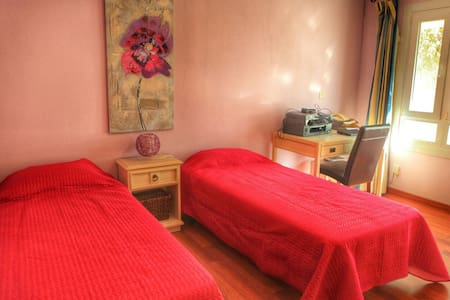 Warm and romantic room - San Roque