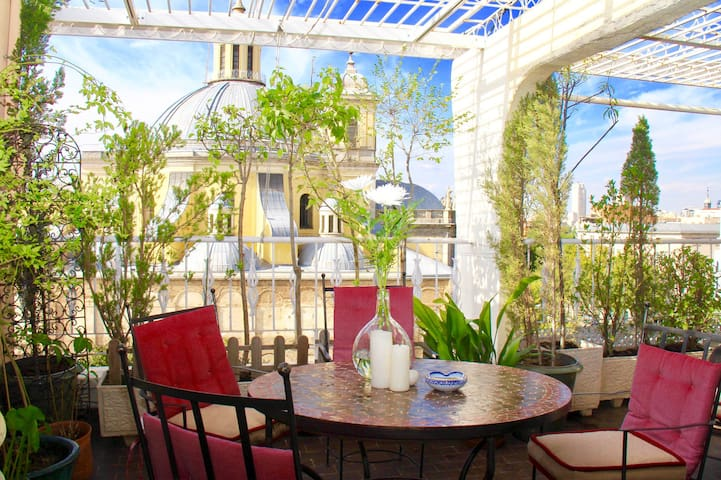 NEW! Stunning Attic at Centre with amazing terrace - Madrid - Apartemen