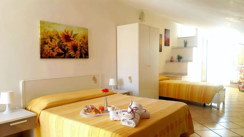 Mansard in Bed & Breakfast Il Villino