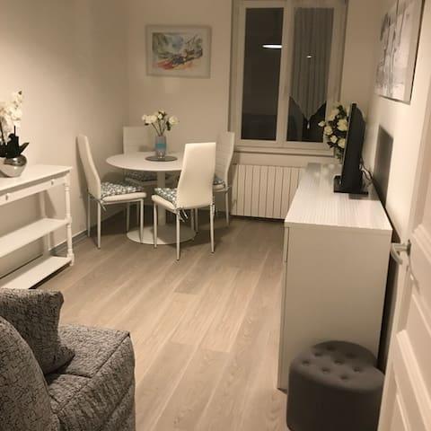 Appartement idéal à 50 m de la plage