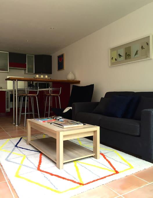 duplex sainte victoire about 45 square meters houses. Black Bedroom Furniture Sets. Home Design Ideas