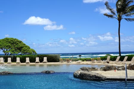 BEACHFRONT RESORT.  Rates Starting at $125 /Night! - 리휴(Lihue)