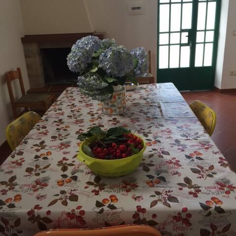 Deliziosa casa di campagna con orto-giardino