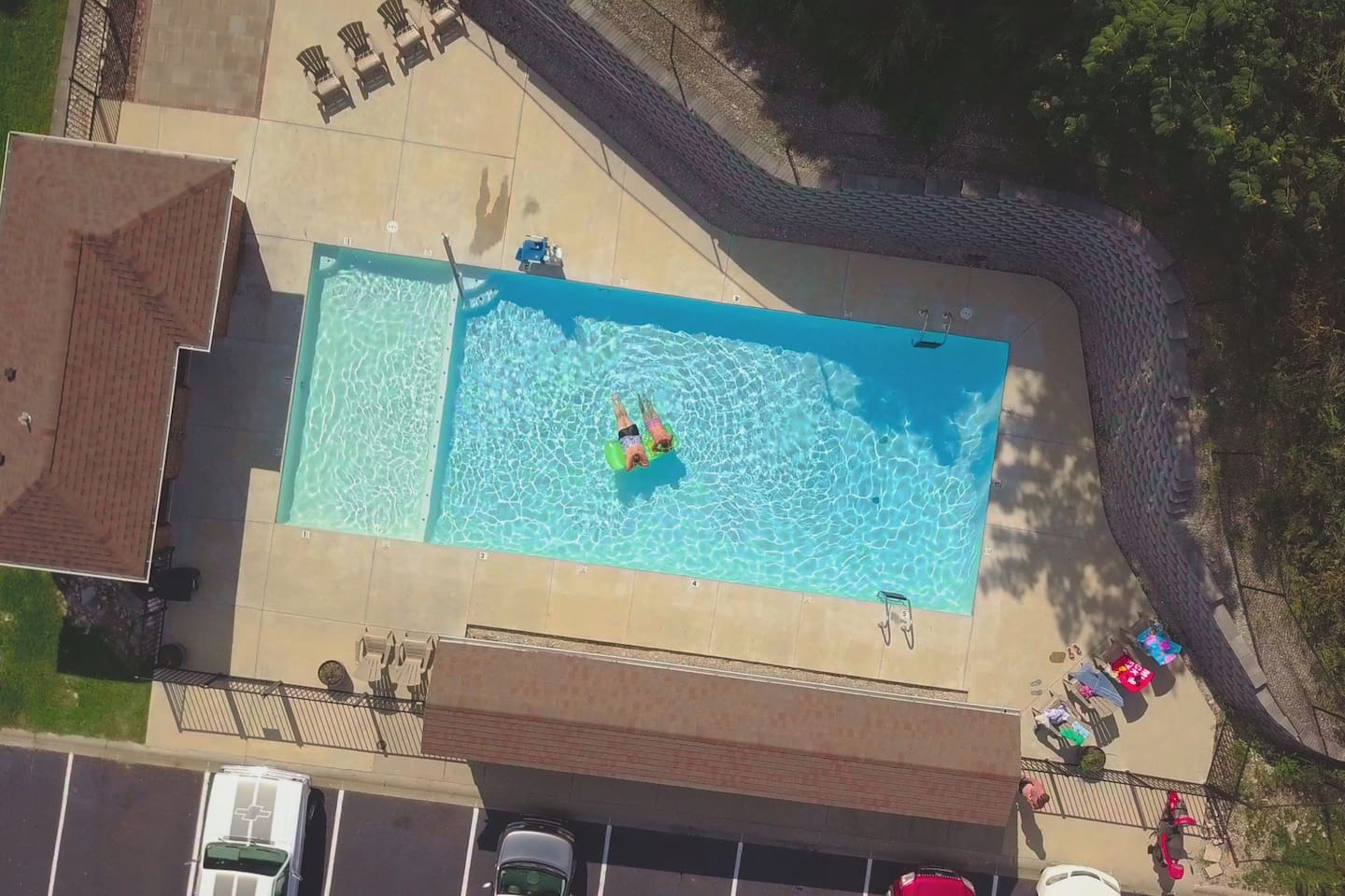 Salt Water Pool Open May to October