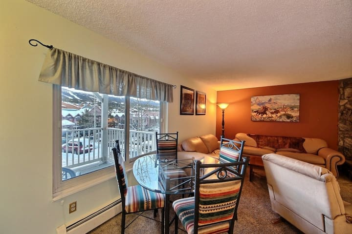 Tannhauser-Postcard Views - On Main St.-300 yds to Quicksilver Lft! HOT TUB-Roomy/Location -by iTri