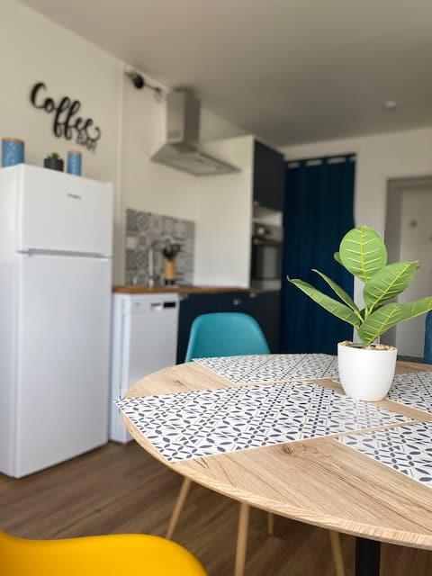 Super appartement cosy, parking privé