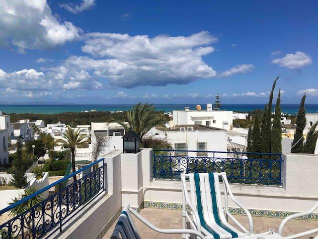 Authentic Tunisian Villa with Sea View