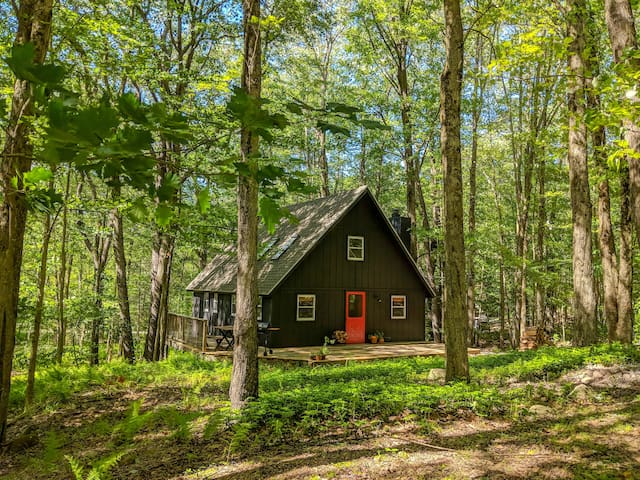 The Pocono Lake Cabin Retreat