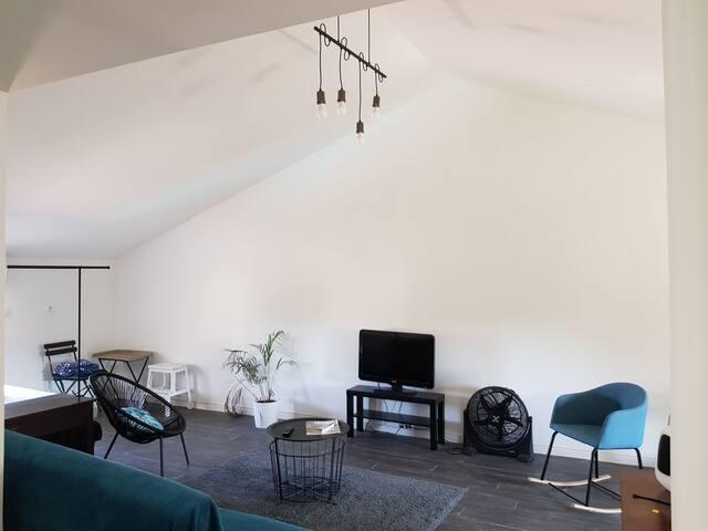 Appartement  confortable et calme , plein centre .