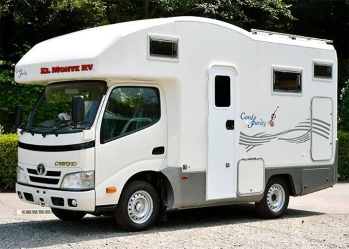 Enjoy El Monte's RV(Motorhome) in Tokyo, Japan