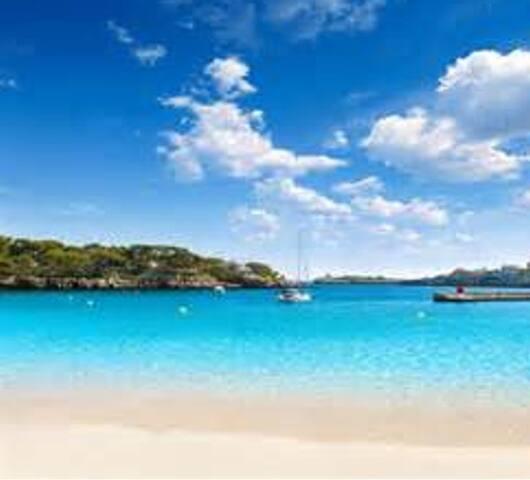 Schöne Familien Ferienwohnung Strandnähe Mallorca - Porto Cristo - Appartement