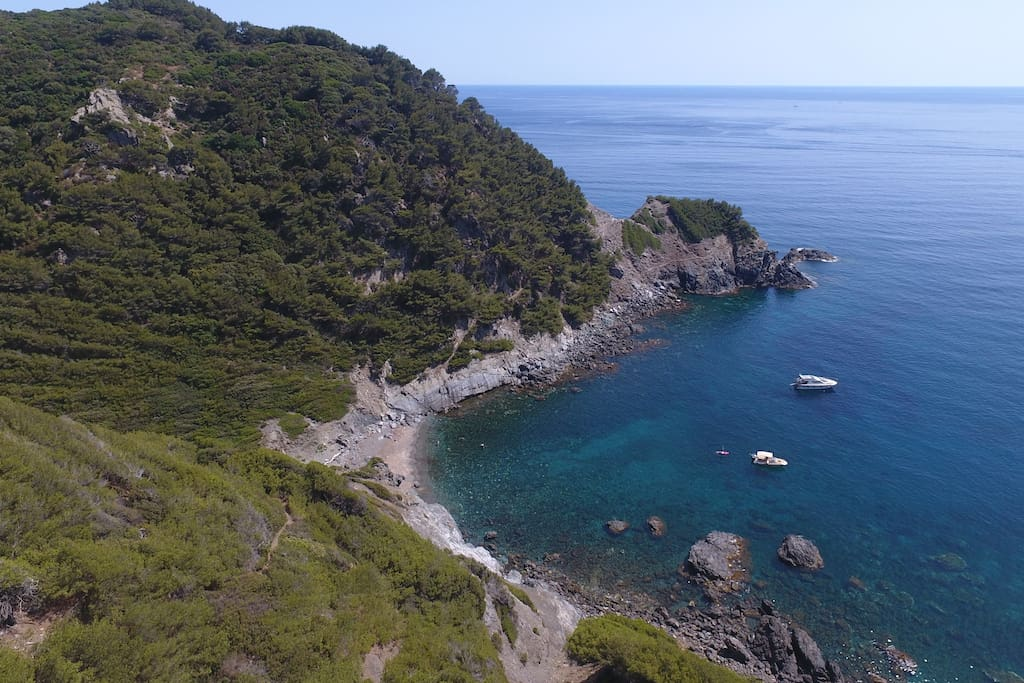 Almost private beach