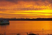 Beautiful early Sunrise