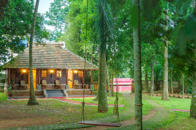 Traditional Kerala Style Woodhouse