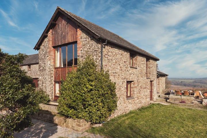 Salvin Lodge a unique barn conversion in Devon