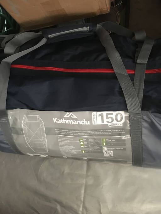 New tent recently acquired from Kathemandu