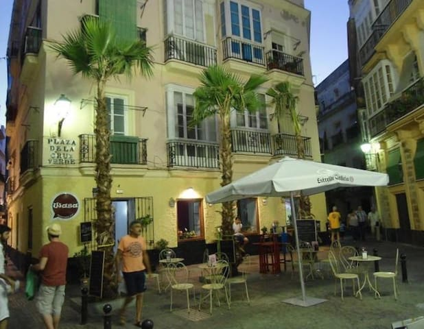 Apartamento Plaza De la Cruz Verde - Cádiz - Appartement