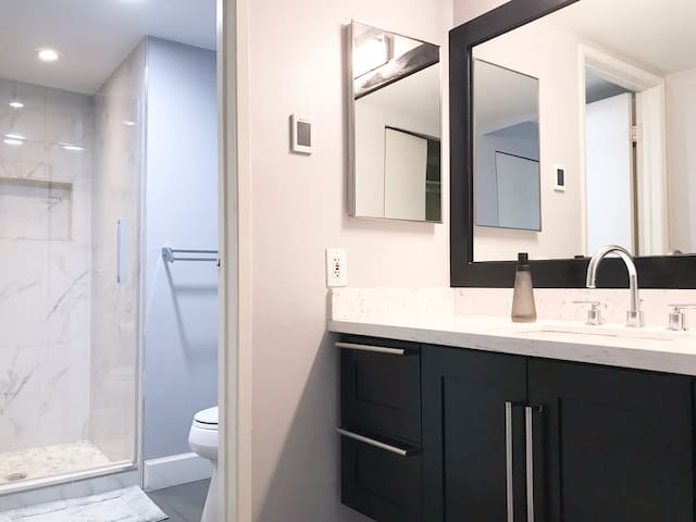 Master bedroom bathroom