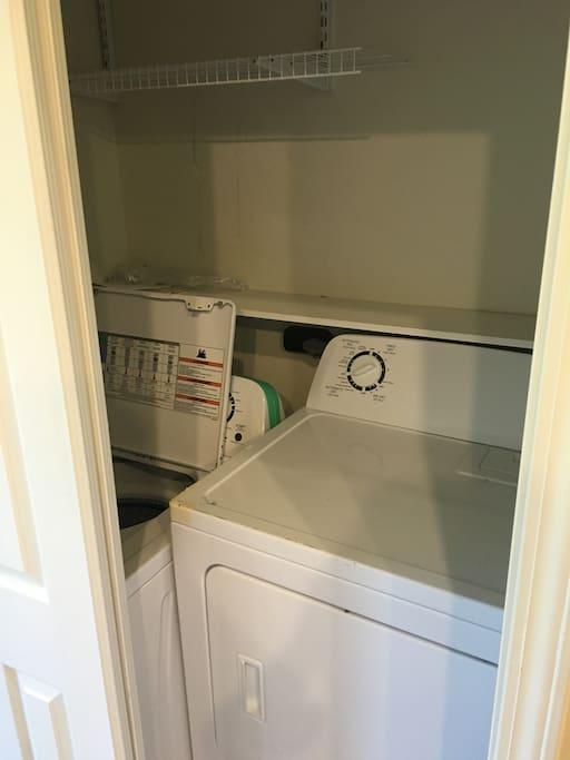 Laundry facilities!