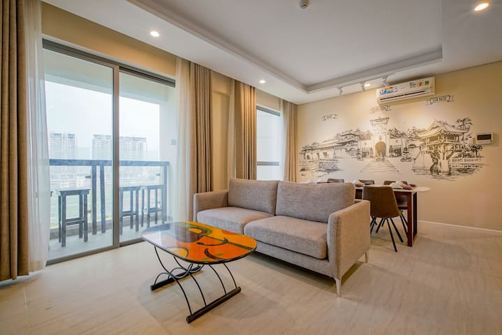 Diamond Island -Fresh Air-Resort inside Saigon