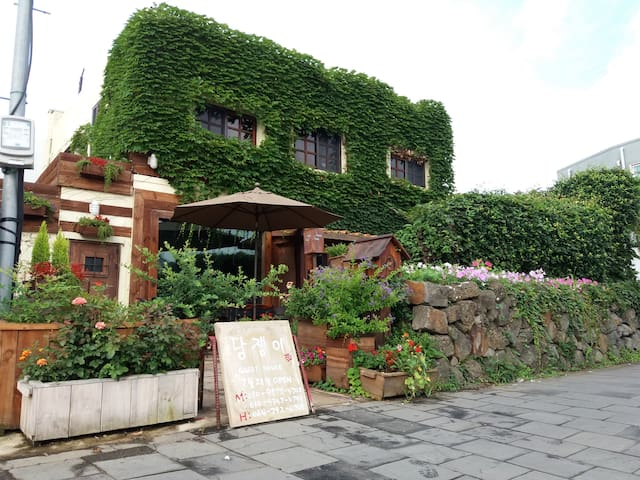 Authentic Korean-style house/Central location(수국)