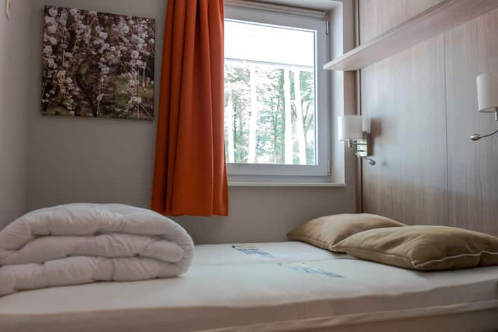 Apartment in a wooded area close to Genk