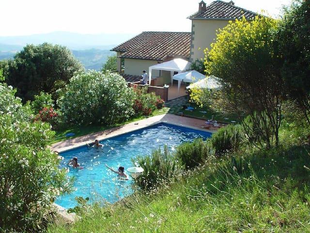 Villa con piscina immersa nella campagna toscana - Monterotondo Marittimo - 別墅