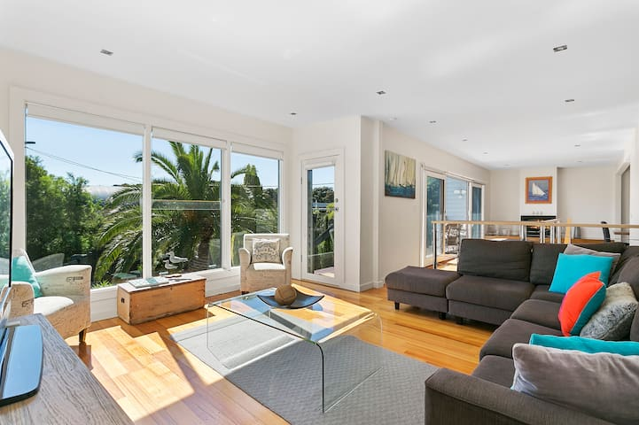 Blairgowrie Front Beach House, New pool and Spa