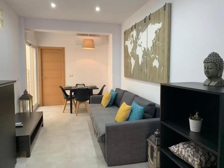 Apartamento Mediterráneo B con WIFI en Pto sagunto